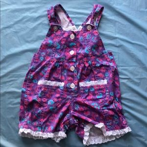 Other - Vintage Girls 18 month overalls